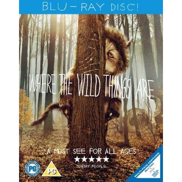 Where The Wild Things Are (Blu-ray + DVD Combi)[Region Free]
